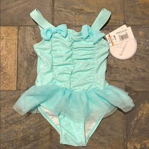 NWT Koala Kids One Piece Bathing Suit with Tutu